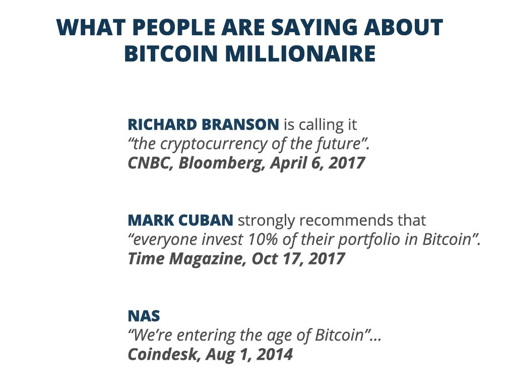 Earning a profit with Bitcoin Millionaire