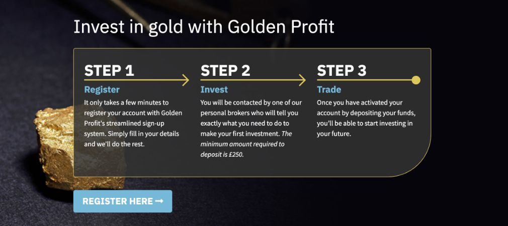 Golden Profit how to get started